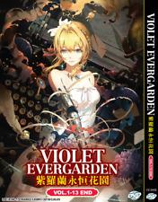 DVD ANIME Violet Evergarden Vol.1-13 End ENGLISH VERSION Region All + FREE DVD