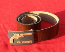 ceinture avec boucle COLT 45 cow boys western neuve