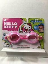 HELLO KITTY Swim Goggles YOuTH-Adult Water Fun Activity Summer PINK Sanrio 16624