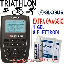 Globus TRIATHLON elettrostimolatore Triatleta Running Ciclismo Nuoto Gara 270prg