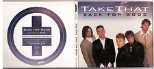 Take That Back for Good US promo CD single Arista Robbie Williams Gary Barlow