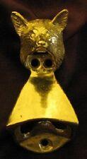 Fox Wall Mounted Bottle Opener in Bronze, Fox Hunting