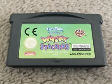 TINY TOON ADVENTURES: WACKY STACKERS (GBA Game) Game Boy Advance