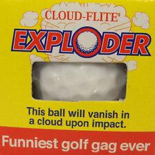 EXPLODING, PHANTOM, JETSTREAMER 3 GOLF BALLS SET GAG JOKE NOVELTY TRICK MAGIC