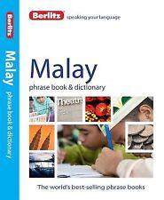 Berlitz Malay Phrase Book & Dictionary by Berlitz Publishing -Paperback