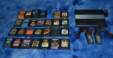 ATARI 7800 PROSYSTEM +32 GAMES SEE LIST BELOW WITH 2 CONTROLLERS SEE DESCRIPTION