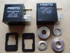 2 Stück FESTO - Magnetspule MSFG-24/42 - 50/60