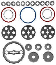 Lego Pulleys+Belts Kit (technic,mindstorms,robot,ev3,rubber,wheel,band,silicone)