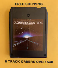 Close Encounters Of The Third Kind Original Soundtrack 8 track tape tested