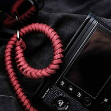Strong Climbing Rope Leather Braided Adjustable Camera Wrist Hand Strap X-T2 E3