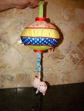 Manhattan Toy Little Bloom Musical Hanging Crib Plush Kitten Taggie Activity