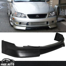 Fit For 01-05 Lexus IS300 Sedan 4Dr WD-Style Front Bumper Lip PU