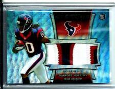 2013 Bowman Sterling Rookie 3-Color Jersey DeAndre Hopkins D # 17/99 Texans