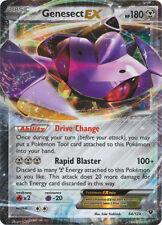 x1 Genesect-EX - 64/124 - Holo Rare ex Pokemon XY Fates Collide M/NM