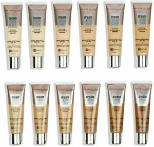 Maybelline Dream Urban Cover Full Cover Lightweight Foundation SPF50 *All Shade*