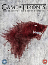 Game of Thrones: The Complete First & Second Seasons DVD (2013) Sean Bean