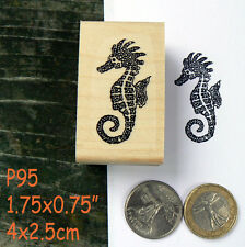 P95 Seahorse  rubber stamp