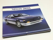 1987 Nissan 200 SX Brochure - French