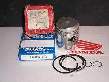 HONDA C50 SS50 +0.5mm OE PISTON + RINGS 036 RiK JAPAN NOS 1201.03A