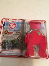 OSITO TY BEANIE BABY. INTERNATIONAL BEARS II. McDonalds Happy Meal 2000