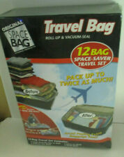 Original Space Bag 12 pc Travel Set Roll orVacuum Seal  New in Box Sealed
