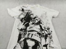 2009 Star Wars Marc Ecko Cut & Sew T-Shirt Large Troopers Never Die We Multiply