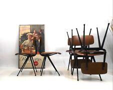 Result Chair Stühle von friso Kramer für Ahrend de Cirkel 1953 er Jahre
