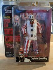 SIGNED! Captain Spaulding Neca HOUSE OF 1000 CORPSES. IN SEALED ORIGINAL PACKAGE