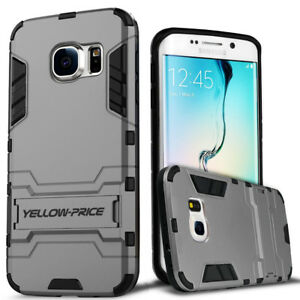 Shockproof Impact Armor Rubber Kickstand Case Cover For Samsung Galaxy S7 Edge
