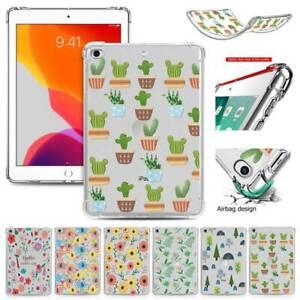 "For iPad 10.2"" 9.7 Pro 12.9 11 2021/20/19 Mini Tough Silicon Soft TPU Case Cover"
