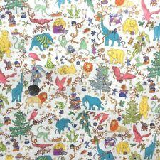 Liberty Tana lawn fabric *Liberty Christmas* ~ 42cm wide x 48cm long - ivory