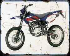Beta Rr 125 Motard 08 A4 Metal Sign Motorbike Vintage Aged