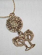 Tree Pendant Necklace + Fun! Sculpted Sunshine & Palm