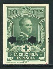 Spanish GUINEA IMPERF PROOF: Scott #B2 10c Red Cross WATERLOW $$$