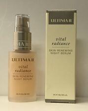 Ultima Vital Radiance Skin Renewing Night Serum 0.95 fl oz/28ml