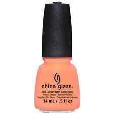 China Glaze Nail Polish Lacquer - Sun of A Peach #81318 -  0.5floz/15ml