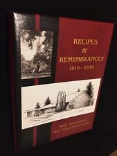 Recipes And Remembrances 1910-2010 100th Anniversary Holy Name Rockford Iowa