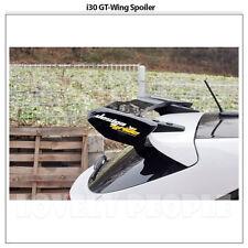 FRP Unpainted Rear Wing Roof Spoiler for Hyundai i30 Elantra GT 2013-2015