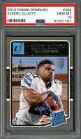 2016 panini donruss #368 EZEKIEL ELLIOTT dallas cowboys rookie card PSA 10