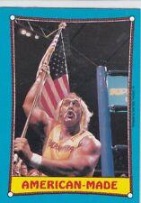 1987 Topps WWF Wrestling card #35 American Made Hulk Hogan WWE