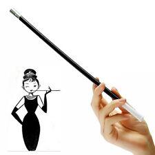34 cm Long Cigarette Holder Smoking Pipe Women Retractable Vintage Cigar
