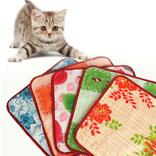 Pet Cat Warm Electric-Heat Heated Pad Blanket Mat Bed For Dog Cat Dog Winter