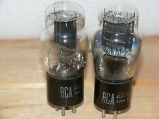 2 RCA #45 Tubes (USA)