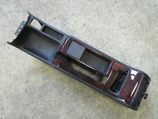 Mittelkonsole hinten Audi A6 4B HOLZ Mitteltunnel Konsole schwarz 4B0863244B