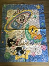 Pre Quilted Baby Bugs And Friends Baby Quilt 33 X 43  needs binding