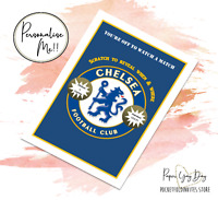 Personalised Scratch Reveal Chelsea Trip Card Xmas Gift Birthday Present