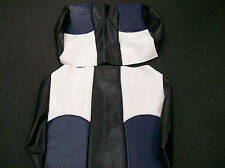 """Club Car Ds '00+ Golf Cart Vinyl Deluxeâ""""¢ Seat Covers-Staple On(Tri-color)"""
