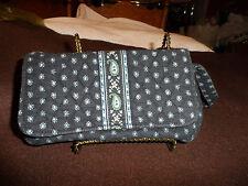 Vera Bradley Jilly bag in retired Seaport Navy pattern