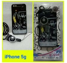Iphone 5 Fashion Case With Free Strap - BASKETBALL