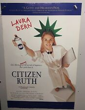 Original Movie Poster Citizen Ruth Double Sided 27x40